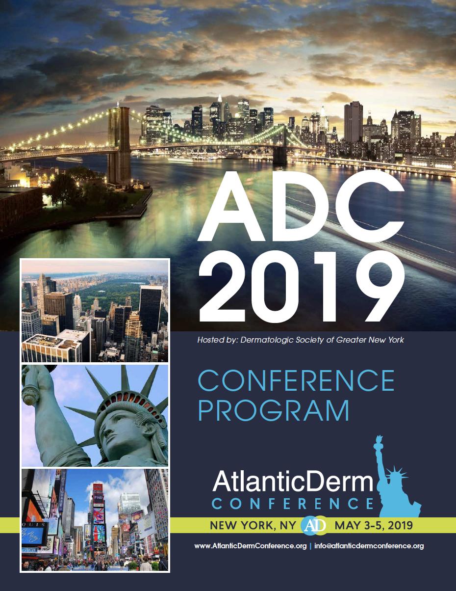 Schedule - Atlantic Derm ConferenceAtlantic Derm Conference